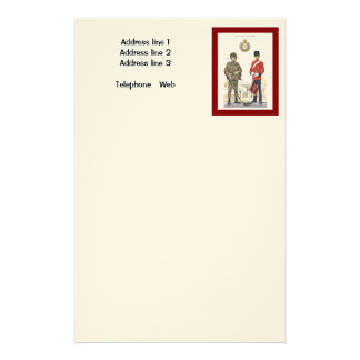 Historic Uniforms, Corps of Royal Engineers Stationery