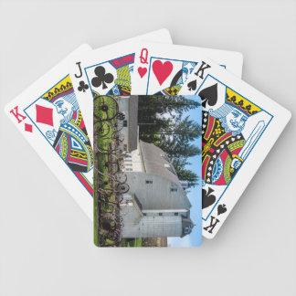 Historic Uniontown Washington Dairy Barn Bicycle Playing Cards