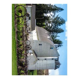 Historic Uniontown Washington Dairy Barn Letterhead