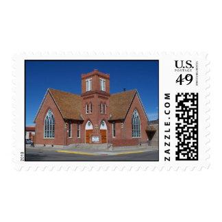 Historic United Methodist Church Stamp
