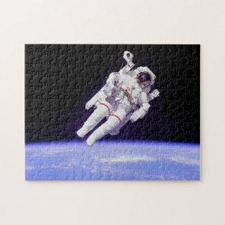 Historic Untethered Space Walk Jigsaw Puzzle