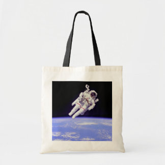 Historic Untethered Space Walk Tote Bag