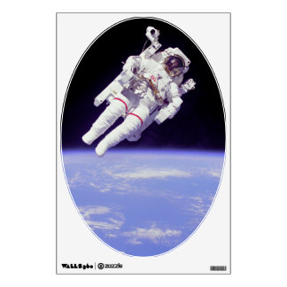Historic Untethered Space Walk Wall Decor