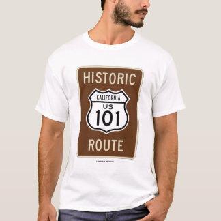 Historic US 101 Route (Transportation Sign) T-Shirt