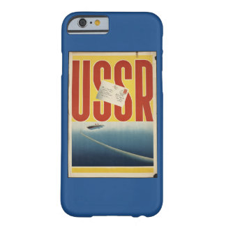 Historic Vintage USSR Travel Poster Barely There iPhone 6 Case