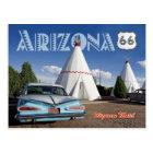 Historic Wigwam Motel, Route 66, Arizona Postcard