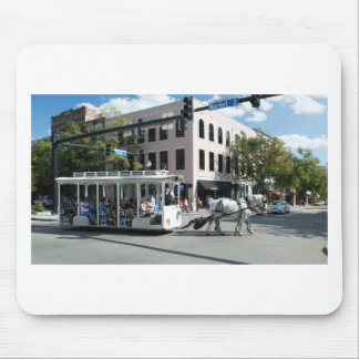 Historic Wilmington Horse and Carriage Mouse Pad