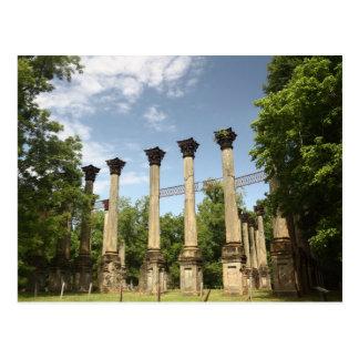 Historic Windsor Ruins Park Postcard