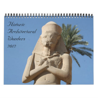 historic wonders 2012 calendar