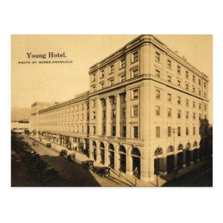 Historic Young Hotel Postcard Honolulu, Hawaii