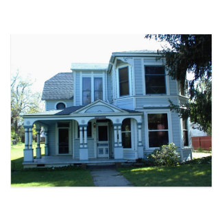 Historic Yreka Victorian Home Postcard