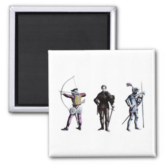 Historical Britain England 15th Century Knights Magnet