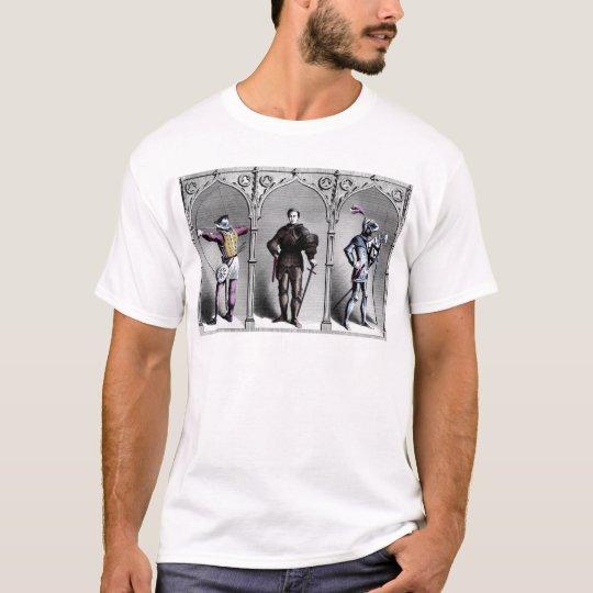 Historical Britain England 15th Century Knights T-Shirt