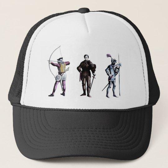 Historical Britain England 15th Century Knights Trucker Hat