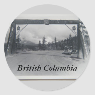 Historical British Columbia sticker
