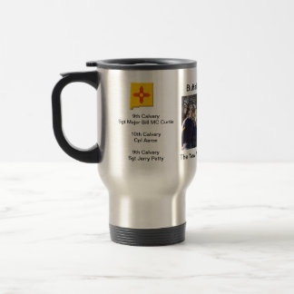 historical Buffalo Soldier ocassion Travel Mug