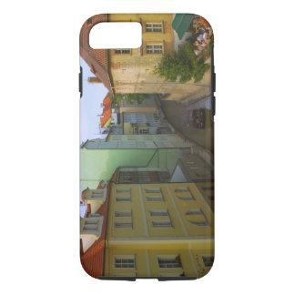 Historical buildings with canal, Prague, Czech iPhone 7 Case