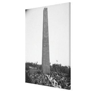 Historical Bunker Hill Monument Photograph Canvas Print