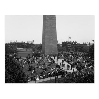 Historical Bunker Hill Monument Photograph Postcard