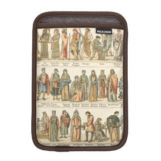 Historical Civil Dress iPad Mini Sleeve
