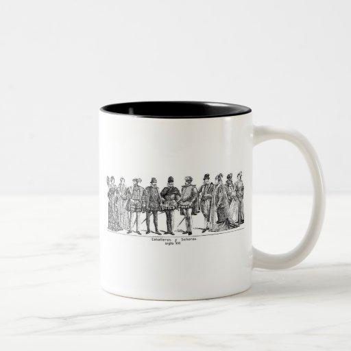 Historical Costumes Coffee Mug