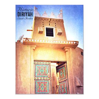 Historical Diriyah Riyadh Saudi Arabia Vintage Magnetic Card