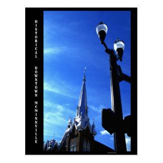 Historical Downtown Postcard