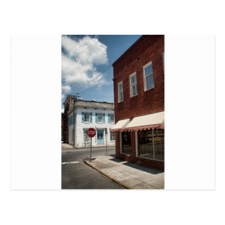 Historical Downtown Savannah Georgia Postcard
