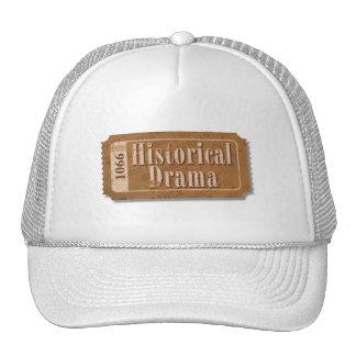 Historical Drama Movie Ticket Hat