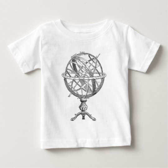 Historical drawing OF A scientific Earth sphere Baby T-Shirt