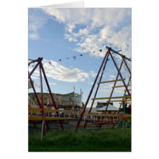 Historical Fairground at the Black Country Museum Card
