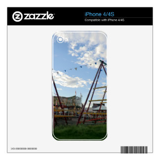 Historical Fairground at the Black Country Museum iPhone 4 Decal
