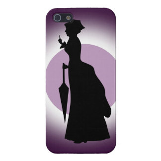 Historical Fashion: Rain Woman iPhone(5) Savvy Cover For iPhone SE/5/5s