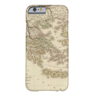 Historical Greece, Paris atlas map Barely There iPhone 6 Case