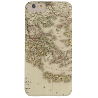 Historical Greece, Paris atlas map Barely There iPhone 6 Plus Case