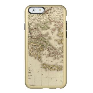 Historical Greece, Paris atlas map Incipio Feather® Shine iPhone 6 Case