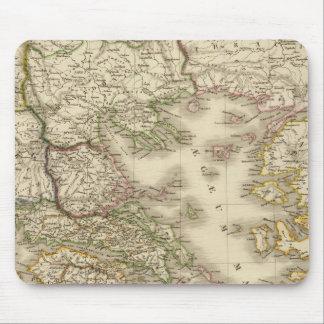 Historical Greece, Paris atlas map Mouse Pad