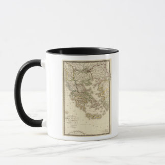 Historical Greece, Paris atlas map Mug