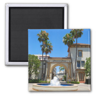 Historical Hollywood Movie Studio 2 Inch Square Magnet