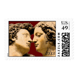 Historical Kiss Postage Stamps