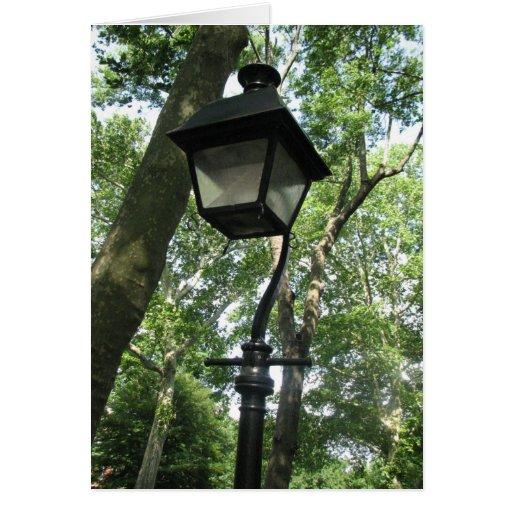 Historical Lamp Post Greeting Card