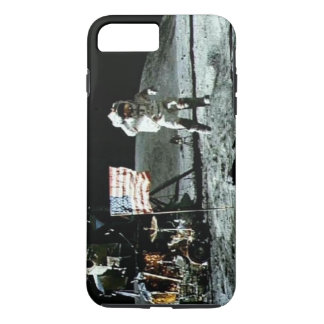 Historical man on the moon iPhone 8 plus/7 plus case