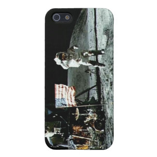 Historical man on the moon iPhone SE/5/5s case