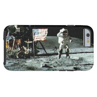 Historical man on the moon tough iPhone 6 case