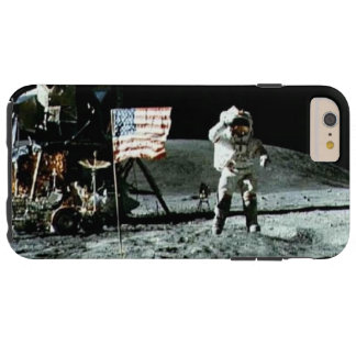 Historical man on the moon tough iPhone 6 plus case