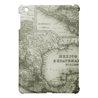Historical Map Mexico and Guatemala  Cover For The iPad Mini