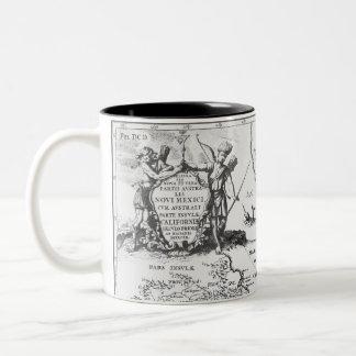 Historical Map Mexico California 1702 mug