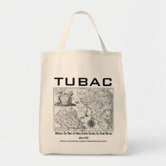 Historical Map Mexico California 1702  organic bag