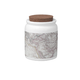 Historical Map of the Known World Candy Dish