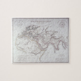 Historical Map of the Known World Jigsaw Puzzle